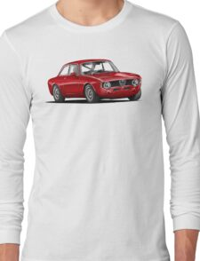 Alfa Romeo Gulia GTA Long Sleeve T-Shirt