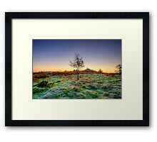 Colours Of Dawn Framed Print