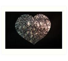 Fragile Heart! Art Print