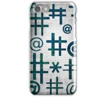 Text Mode iPhone Case/Skin