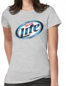 Beer is my Life - Parody Logo Womens Fitted T-Shirt