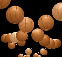 Japanese Lanterns by Kathy Baccari