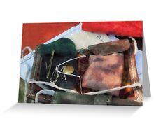 Civil War Sewing Kit Greeting Card