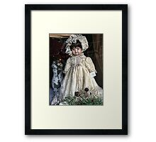 All I Want for Christmas is that Dolly in the Window Framed Print