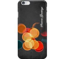 Christmas lights - iPhone case iPhone Case/Skin