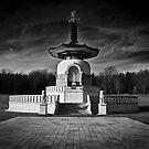 Nipponzan Myohoji Pagoda by Nick Bland