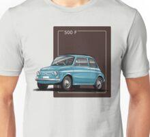 Fiat 500 f petrol Unisex T-Shirt