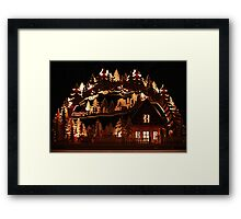 Woodwork Made in Saxony Framed Print