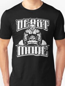 Beast Mode Gym Fitness Sports Unisex T-Shirt