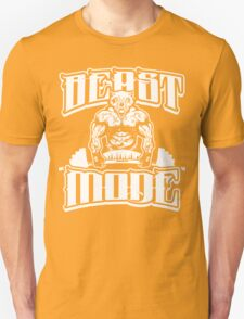 Beast Mode Gym Fitness Sports T-Shirt