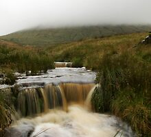 Mist Over Pendle by Geoff  Hargreaves