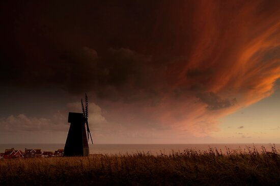 Rottingdean Windmill by Chester Tugwell