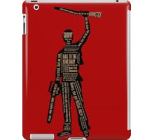 Army Of Darkness Ash Quotes iPad Case/Skin
