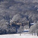 Towneley Hall in the Snow by Geoff  Hargreaves