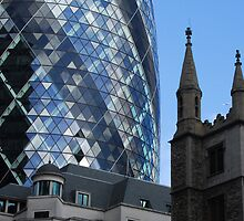 Ancient and modern London by Heather Thorsen