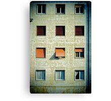 Twelve windows Canvas Print