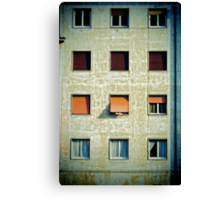 Twelve windows Canvas Print