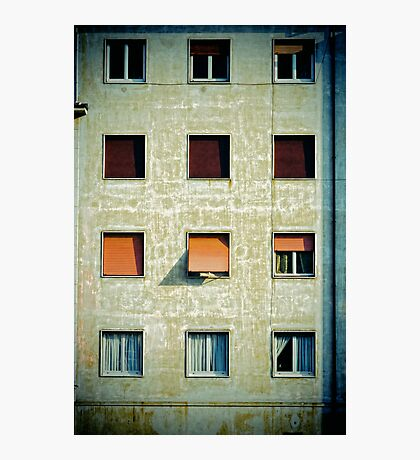 Twelve windows Photographic Print