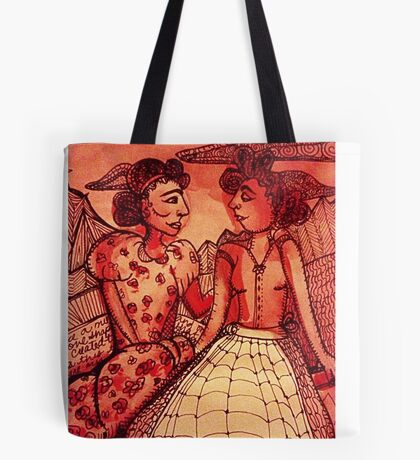 Revisiting Old Friends. Tote Bag