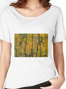 Red In The Aspen Women's Relaxed Fit T-Shirt