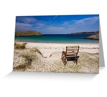 Achmelvich Beach Greeting Card