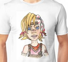 Borderlands 2 Tiny Tina Psycho Inspired Watercolour Illustration by Jayne Kitsch Unisex T-Shirt