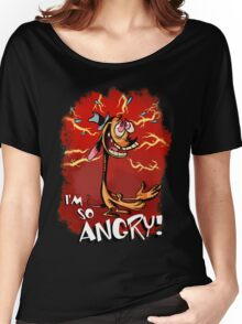 Ren is so Angry Women's Relaxed Fit T-Shirt