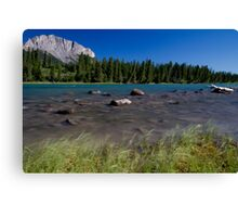 Bow Valley Canvas Print