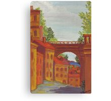Old Odessa City oil painting Canvas Print