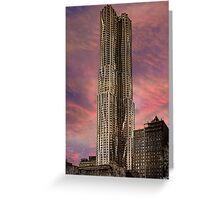 Eight Spruce Street, Gehry's New York Skyscaper Greeting Card