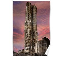 Eight Spruce Street, Gehry's New York Skyscaper Poster