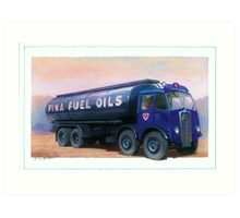 AEC Mammoth Major Fina Fuels Art Print