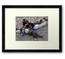Friends - Amigos Framed Print