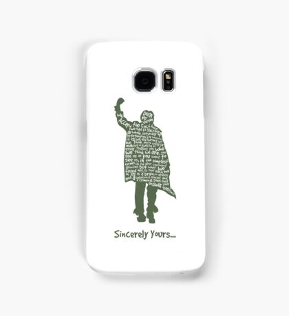 The Breakfast Club - Sincerely Yours Samsung Galaxy Case/Skin