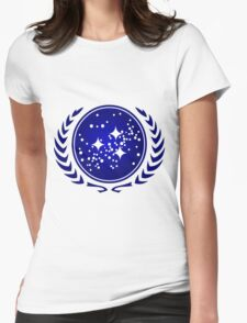 United Federation of Planets Logo Womens Fitted T-Shirt