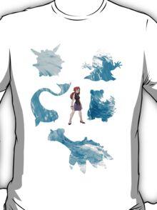 Lorelei and her pokemon (elemental) T-Shirt