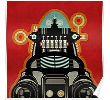 Robbie the Robot from Forbidden Planet Poster