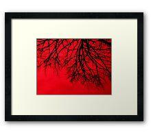 Life Blood Framed Print
