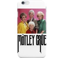 Golden Girls Girls Girls Metal Tee iPhone Case/Skin
