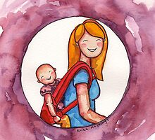 Baby Wearing by Erika  Hastings
