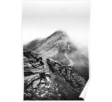 Golm (Alps, Austria) #17 B&W Poster