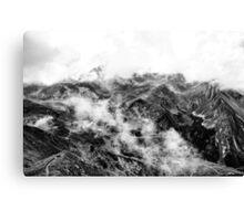 Golm (Alps, Austria) #16 B&W Canvas Print