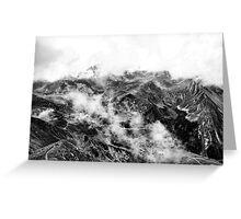 Golm (Alps, Austria) #16 B&W Greeting Card
