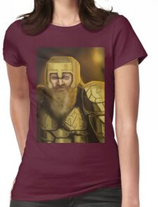 Dwarven Warrior Womens Fitted T-Shirt