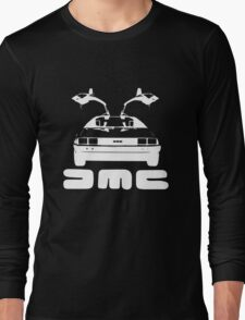 DeLorean DMC NEGATIVE Long Sleeve T-Shirt