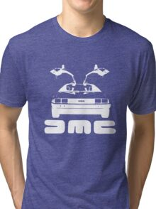 DeLorean DMC NEGATIVE Tri-blend T-Shirt