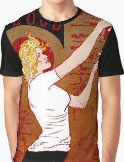 True Blood Nouveau red Graphic T-Shirt