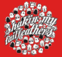 Shakin' My Tailfeathers by afatpenguinshop