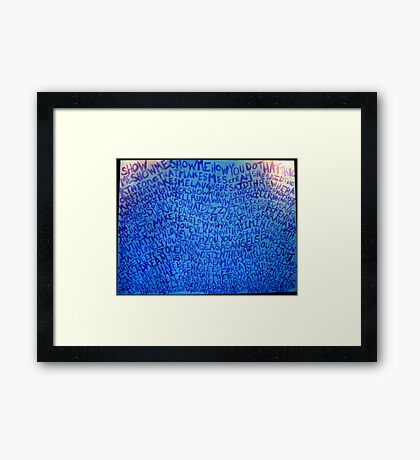 Just Like Heaven Framed Print