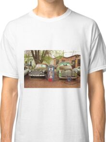 Route 66 - Snow Cap Drive-In Classic T-Shirt